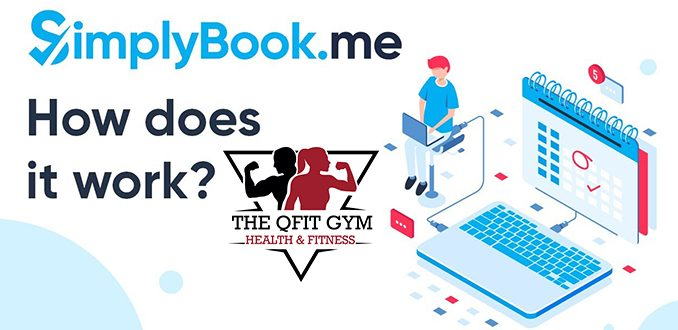 How to book online with the QFit Gym